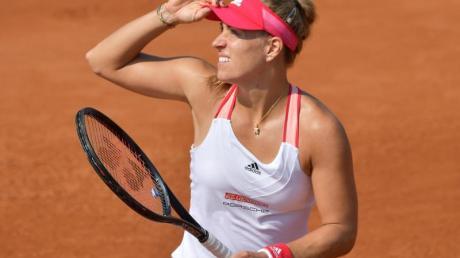 Für Angelique Kerber ist bereits nach der ersten Runde bei den French Open Endstation.