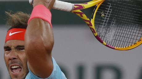 Rafael Nadal trifft im Halbfinale der French Open. auf den Argentinier Diego Schwartzman.