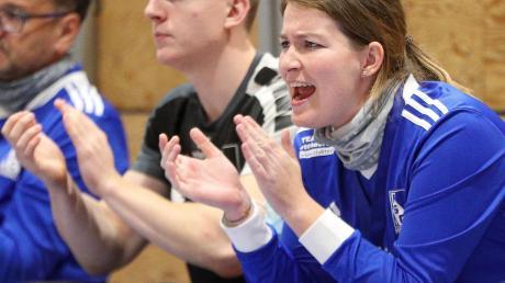 Trainerin Julia Rawein will mit den Kissinger Handballerinnen den zweiten Sieg im zweiten Spiel holen.