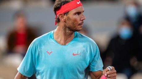 Rafael Nadal erreichte zum 13. Mal das Finale im Stade Roland Garros.