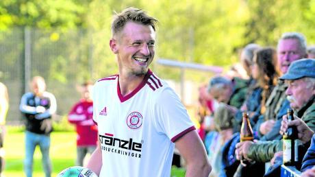 Die Spieler – hier Johannes Zott – und Fans des TSV Buch hatten gegen Weilimdorf wieder Spaß am Fußball.