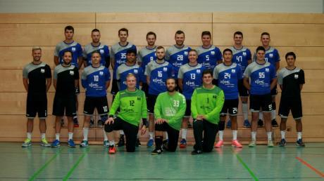 Mit diesem Team wollen die Bobinger Handballer in der Bezirksoberliga eine gute Rolle spielen.