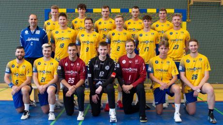 Mit diesem Team wollen die Schwabmünchner Handballer in der Bezirksoberliga bestehen.