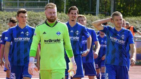 Torwart Felix Thiel fehlt dem FV Illertissen in Rosenheim verletzungsbedingt.