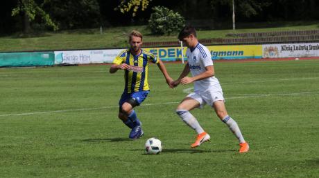 Nicolas Prestel (rechts) freut sich, dass sein Team endlich wieder in der Liga ran darf. Am Samstag kommt Ottobeuren.