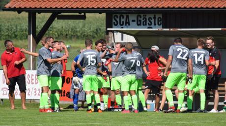 Wegen eines Corona-Verdachts musste der SC Altenmünster das Spiel gegen den VfL Ecknach absagen.