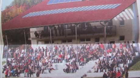 Im Oktober 2005 fand das erste Punktspiel einer Wertinger Fußballmannschaft wieder auf dem Hauptspielfeld auf dem Judenberg statt. Die Zuschauerränge beim 2:2 gegen den FC Pfäfflingen waren gut besetzt.