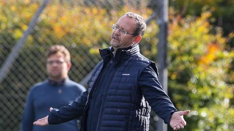 Kein guter Tag für Gerhard Thoma, Trainer in Eurasburg.
