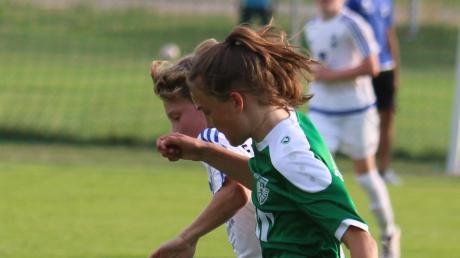 Antonia Dehm  im Dress des TSV Nördlingen. Der Verein kriegt Unterstützung für seine Jugendarbeit.