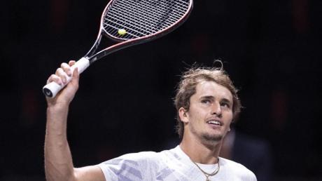 Alexander Zverev denkt derzeit nicht über eine Absage seiner Teilnahme bei den ATP Finals nach.