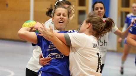 Melanie Pusch (hier gegen München-Ost) und die Kissingerinnen mussten sich in Landshut geschlagen geben.