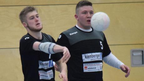 Der Spielbetrieb der Handballer ist wegen Corona ausgesetzt. Auch Moritz Nowak und Valentin Eberle vom TSV Meitingen müssen eine Pause einlegen.