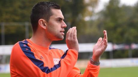 Applaus gab es von Trainer Alexander Käs für den Heimsieg seiner Mannen vor zwei Wochen gegen Memmingen.
