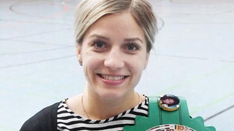 Einen WM-Titel hat Tina Rupprecht bereits, nun will sie in Berlin zwei weitere Gürtel gewinnen.