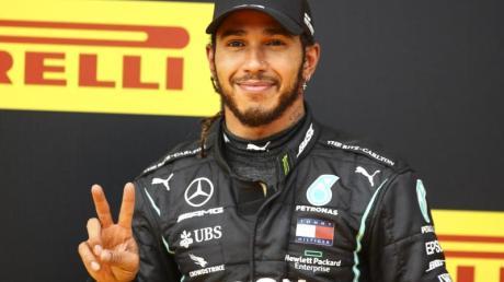Steht kurz vor seinem siebten WM-Titel: Lewis Hamilton.