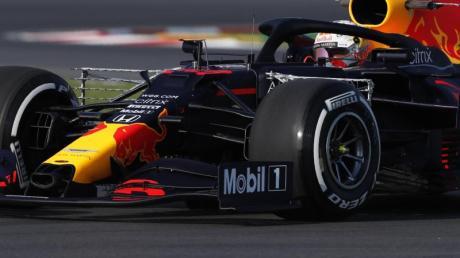 Schnellster beim ersten Trainingstag in Istanbul: Max Verstappen.