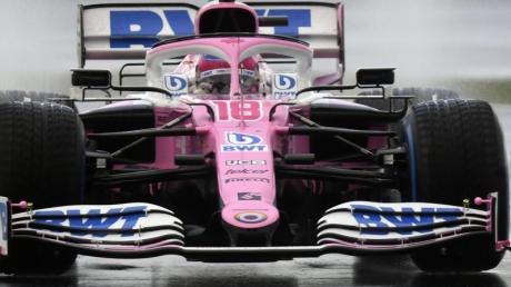 Lance Stroll holte seine erste Pole Position in der Formel 1.