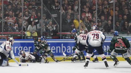 Nehmen die Augsburger Panther an der kommenden DEL-Saison teil? Einiges deutet darauf hin.