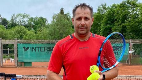 Kann seiner Arbeit derzeit nicht nachgehen: Ivan Georgiev ist gewöhnlich als Tennistrainer des TC am Brandl Neuburg, TSV Burgheim und TSV Ober-/Unterhausen tätig.