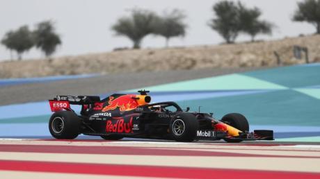 Max Verstappen präsentierte sich im Training als ernsthafter Konkurrent von Lewis Hamilton.