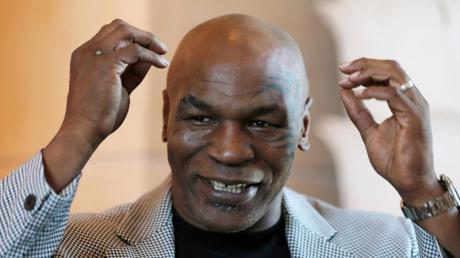Der ehemalige US-amerikanische Schwergewichtsboxer Mike Tyson.