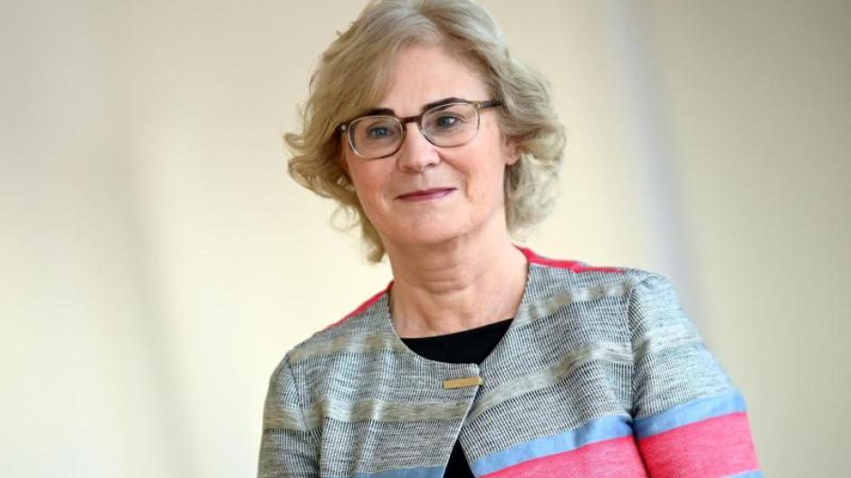 Christine Lambrecht (SPD), Bundesministerin der Justiz und für Verbraucherschutz.