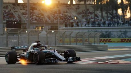 Der Große Preis von Abu Dhabi wird auf dem Yas Marina Circuit ausgefahren.
