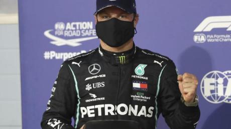 Hat im zweiten Mercedes mit 205 Punkten die besten Chancen Vizeweltmeister zu werden: Valtteri Bottas.