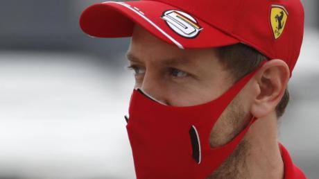 Fährt zum letzten Mal für Ferrari: Sebastian Vettel.