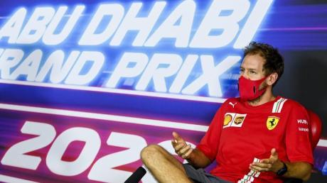 Gibt in Abu Dhabi seinen Abschied bei Ferrari: Sebastian Vettel.