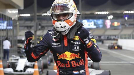 Mit Max Verstappen startet erstmals seit 2013 ein Nicht-Mercedes-Pilot in Abu Dhabi von der Pole-Position.