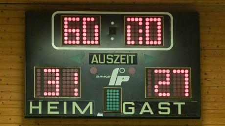 Auf derartige Anzeigen in der Ottobeurer Dreifachturnhalle müssen die Handball-Fans derzeit verzichten. Wann und wie es für die Mannschaften des TSV Ottobeuren und des TSV Mindelheim weitergeht, ist noch unklar.