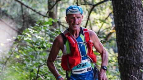 Hans Bouricha-Hörmann läuft seit mehr als 40 Jahren. Dieses Foto entstand 2019 bei einem Rennen in Österreich.