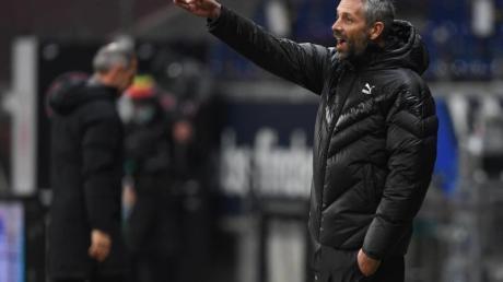 Mönchengladbachs Trainer Marco Rose hat eine Ausstiegsklausel in seinem Vertrag.