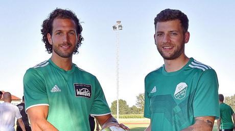 Abgang und ein Fragezeichen: Während Nico Ziegler (links) den SV Karlshuld im Sommer 2021 verlässt, ist die Zukunft von Claudio Maritato (rechts) noch offen.