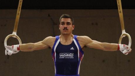 Gleich zwei Medaillengewinner gab es für Turner des TSV Buttenwiesen bei den Europameisterschaften in der Türkei: Unser Bild zeigt Vinzens Höck, der an den Ringen Platz zwei belegte.