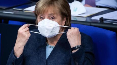 Bundeskanzlerin Angela Merkel setzt sich für schärfere Regeln im Lockdown ein.