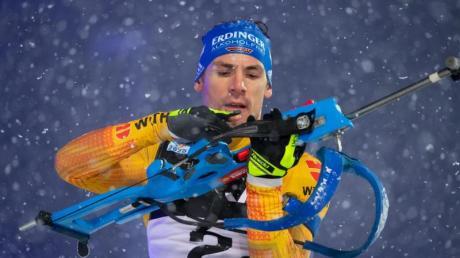 Hofft auf wieder bessere Zeiten: Simon Schempp in Aktion am Schießstand.