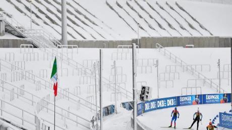 Die Biathleten starten in den ersten der beiden Weltcups in Oberhof.