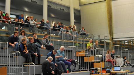 Badminton-Wettkämpfe mit Zuschauern wie hier in Dillingen wird es die nächste Zeit wegen Corona noch nicht wieder gegeben.