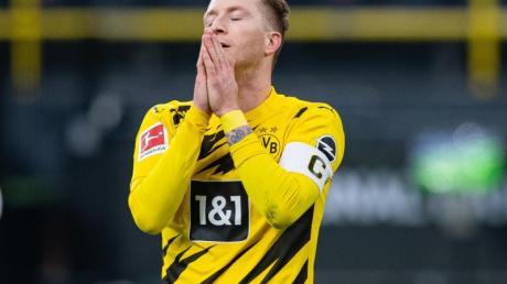 BVB-Star Marco Reus nahm die Schuld für das Remis gegen den FSV Mainz 05 auf sich.