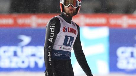 Markus Eisenbichler erreichte beim Weltcup in Zakopane als bester deutscher Springer Rang acht.