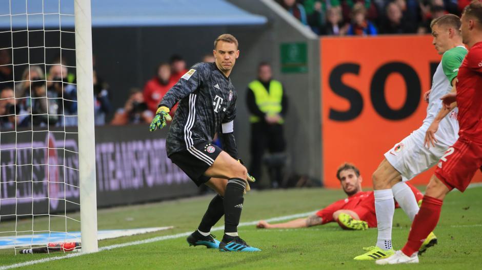 In der Nachspielzeit gelang Alfred Finnbogason im Oktober 2019 der Ausgleich gegen den FC Bayern.