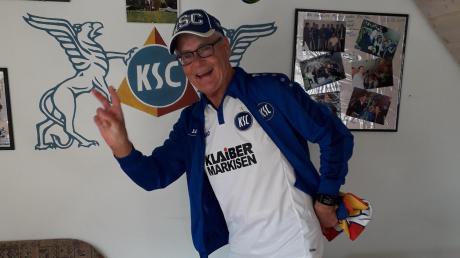 Seit fast 60 Jahren ist der Gundelfinger Jürgen Titze bereits ein Fan des Karlsruher SC.