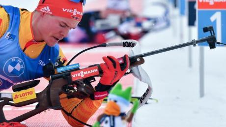 Geht im 20-Kilometer-Einzelrennen der Männer mit der Nummer 26 an den Start: Philipp Horn.