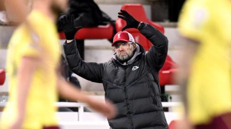 Liverpools Trainer Jürgen Klopp verlor erstmals seit April 2017 ein Heimspiel.