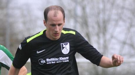 Der Baiershofer Torjäger Matthias Kempter wird in der nächsten Saison FCO-Spielertrainer.