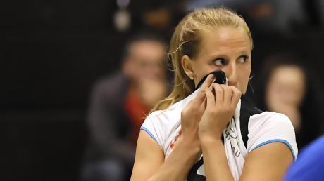 Lisa Schnürer und die DJK Hochzoll haben erst zwei Partien in dieser Saison absolviert. Es deutet viel daraufhin, dass die Spielzeit abgebrochen wird.