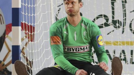 Torhüter Niklas Landin Jacobsen soll im WM-Finale gegen Schweden das dänische Tor sauberhalten.