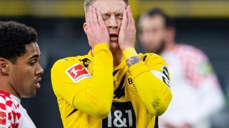 Muss gegen Hoffenheim zuerst auf der Bank Platz nehmen:BVB-Kapitän Marco Reus.